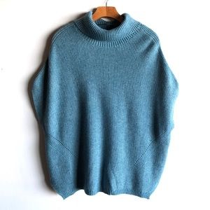 Prologue teal turtleneck sweater